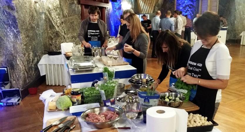 Warsztaty gotowania - Wieliczka 1