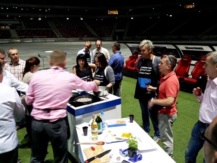 Warsztaty gotowania na Stadionie Narodowym (1)
