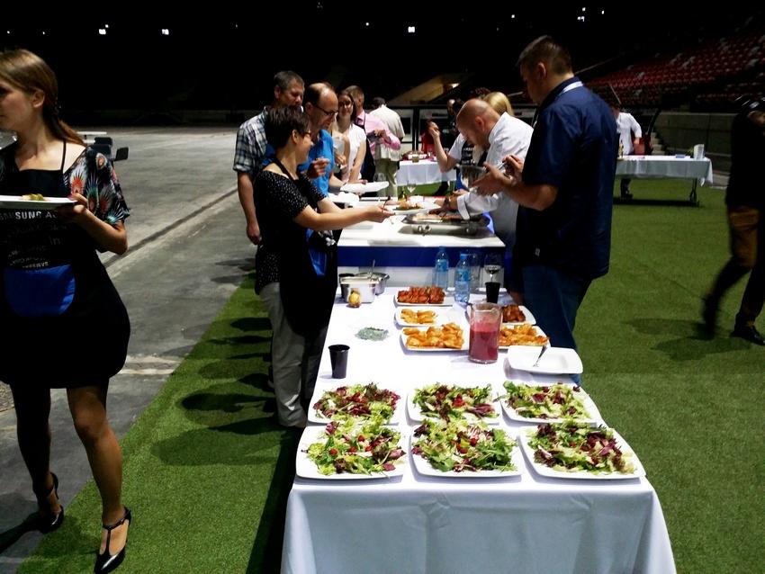 Warsztaty gotowania na Stadionie Narodowym (2)