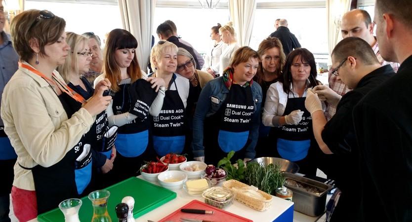 Warsztaty gotowania - SAMSUNG