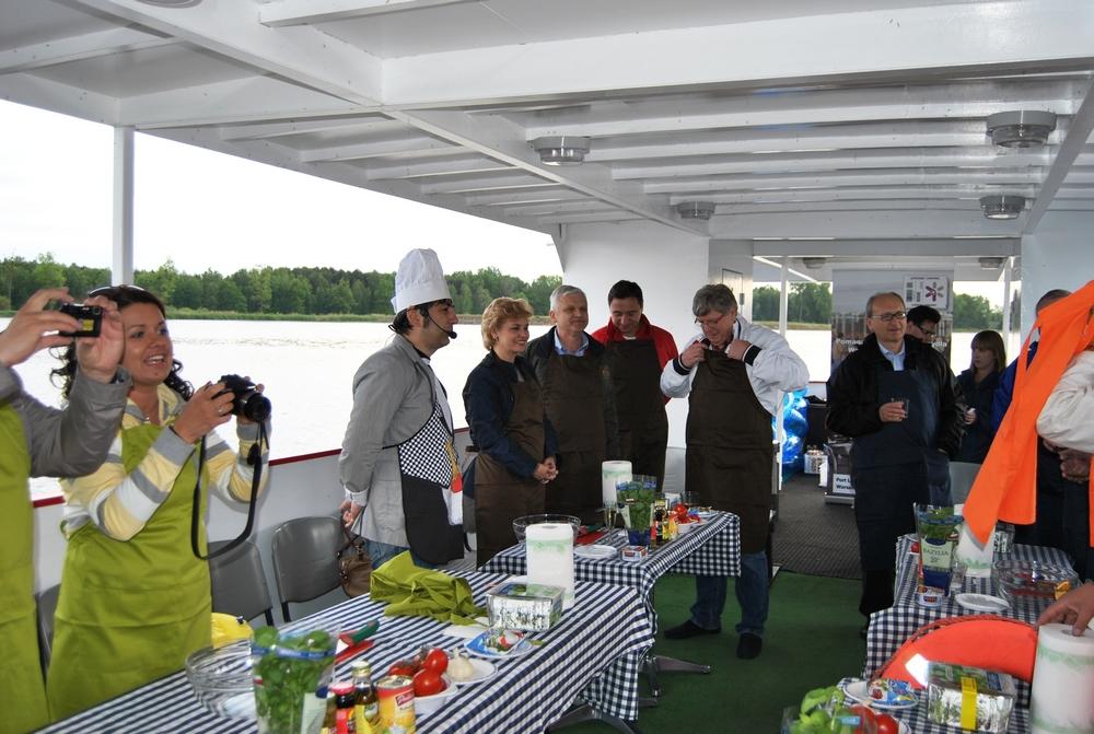 Warsztaty gotowania na Zalewie Zegrzyńskim (1)